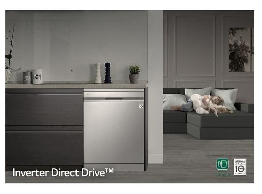 ظرفشویی بدون تمسه ال جی مدل DFB235HS بانه 24