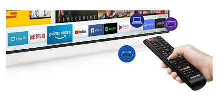 تلویزیون هوشمند 43 اینچ سامسونگ ru7100 بانه 24