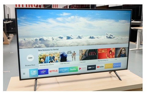 تلویزیون 43 اینچ سامسونگ ru7100 بانه 24