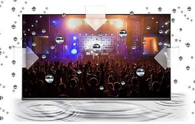سیستم صوتی تلویزیون 50 اینچ سامسونگ ku7000 بانه 24