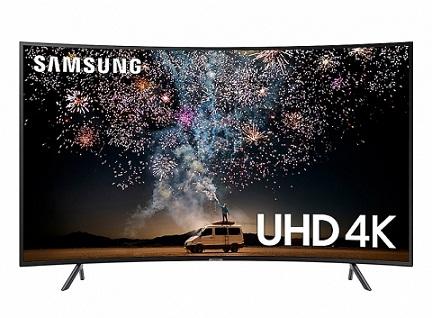 تلویزیون 65 اینچ منحنی سامسونگ ru7300 بانه 24