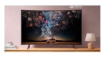 تلویزیون 55 اینچ منحنی سامسونگ بانه 24