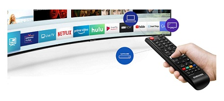تلویزیون هوشمند منحنی سامسونگ بانه 24