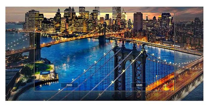 کیفیت تصویر تلویزیون 65 اینچ الجی uk6500 بانه 24