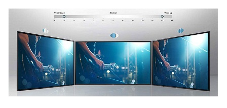 سیستم صوتی تلویزیون 55 اینچ الجی uk6700 بانه 24