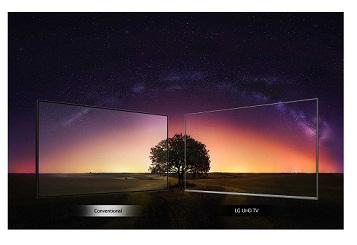 تلویزیون uhd ال جی 55 اینچ um7660 بانه 24