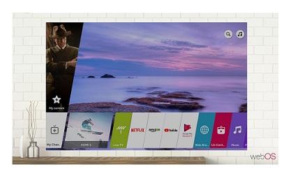 تلویزیون هوشمند 65 اینچ الجی UK6700 بانه 24