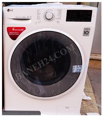 ماشین لباسشویی الجی جدید F2J6NN بانه 24