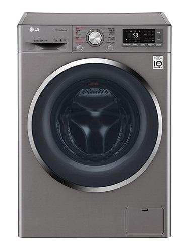 ماشین لباسشویی 9 کیلویی بخارشور دار ال جی f4j6vyp2s- lg -بانه