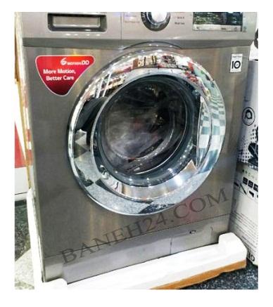 ماشین لباسشویی 9 کیلویی بخارشوردار الجی بانه 24