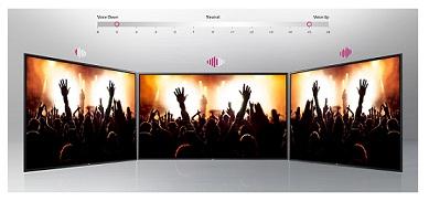 سیستم صوتی تلویزیون 55 اینچ ال جی LV340C بانه 24