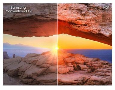 تلویزیون هوشمند سامسونگ nu7023 بانه 24