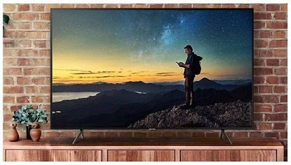کیفیت تصویر تلویزیون 55 اینچ سامسونگ nu7100 بانه 24