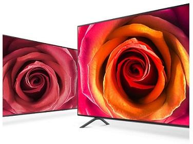 فناوری رنگ ها در تلویزیون سامسونگ nu7100 بانه 24