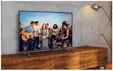 سیستم صوتی تلویزیون 55 اینچ سامسونگ nu7100 بانه 24