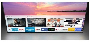 تلویزیون هوشمند 55 اینچ سامسونگ nu7100 بانه 24