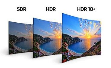 فناوری HDR تلویزیون سامسونگ 55 اینچ NU7172 بانه 24