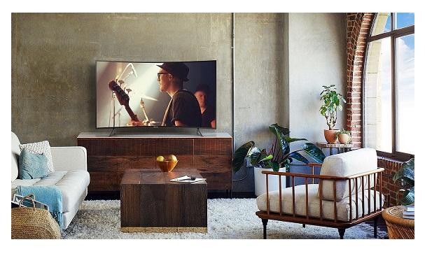 سیستم صوتی تلویزیون 55 اینچ منحنی سامسونگ nu7300 بانه 24