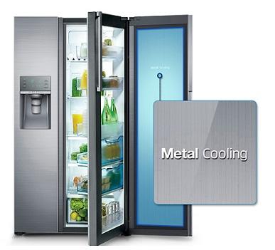 یخچال ساید سامسونگ با سیستم metal cooling بانه 24