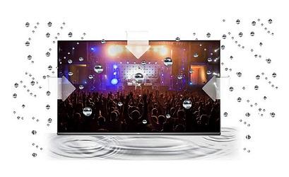 سیستم صوتی تلویزیون سامسونگ 50ru7100 بانه 24