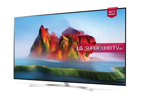 تلویزیون 55 اینچ ال جی 2017 مدل sj850v 4k uhd