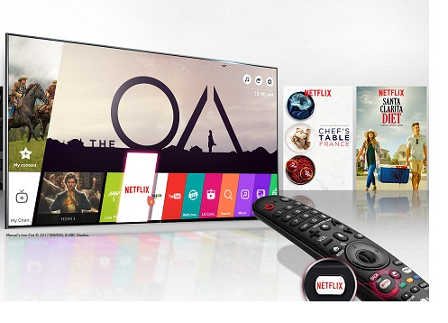 تلویزیون 55 اینچ ال جی 2017 مدل SJ850V 4K UHD بانه کالا هور