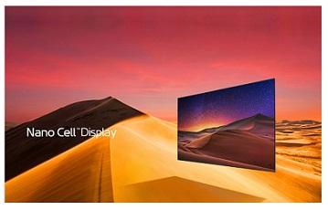 فناوری نانوسل تلویزیون ال جی sk7900 بانه 24