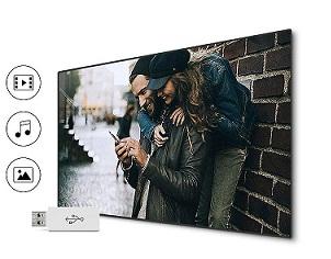 تلویزیون 55 اینچ سامسونگ مدل m6000 بانه 24