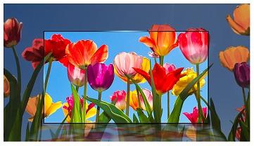 کیفیت تصویر تلویزیون 60 اینچ الجی uj634v بانه 24