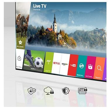 تلویزیون هوشمند الجی مدل uj634v بانه 24