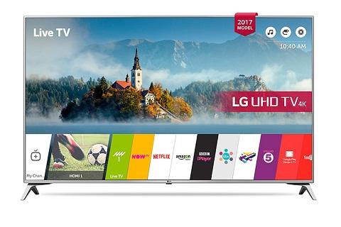 تلویزیون ال ای دی ultra hd ال جی مدل uj651v سایز 49 بانه 24