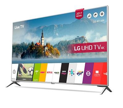 تلویزیون ال ای دی Ultra HD ال جی مدل UJ651V