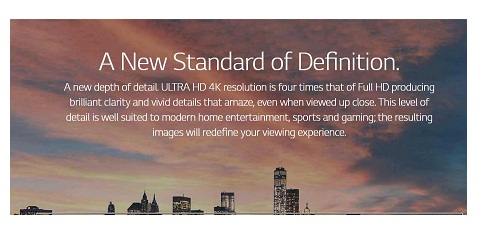 پنل IPS تلویزیون 65 اینچ ال جی UK6300 بانه 24