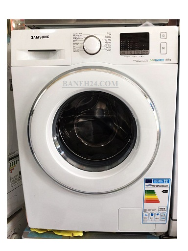 لباسشویی 8 کیلویی اکوبابل سامسونگ مدل WF80F5E4W4W رنگ سفید