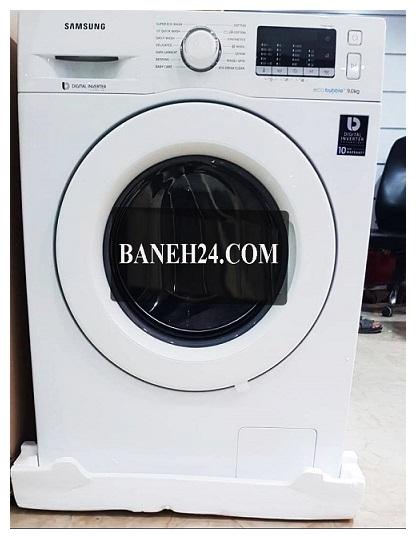 ماشین لباسشویی 9 کیلویی اکوبابل سلمسونگ WW90J5455MW بانه کالا