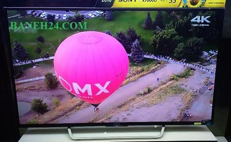 تلویزیون X7000D بتنه