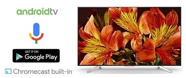 تلویزیون اسمارت 49 اینچ سونی x8500f بانه 24