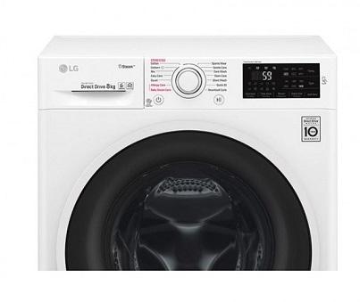 فناوری nfc لباسشویی 6 کیلویی الجی f2j6nnpow بانه 24
