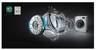 موتور اینورتر دایرکت درایو لباسشویی الجی بانه 24