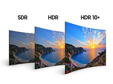 فناوری hdr تلویزیون 55 اینچ سامسونگ nu7100 بانه 24