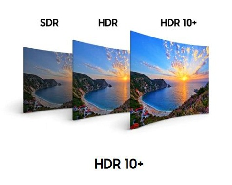 فناوری hdr در تلویزیون منحنی سامسونگ بانه 24