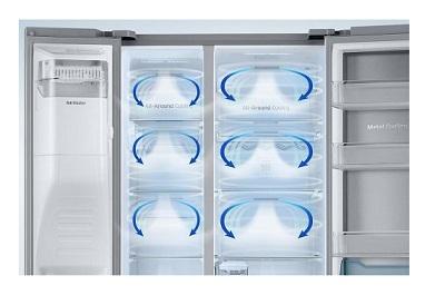 سیستم هوای چندگانه یخچال ساید rh57 بانه 24