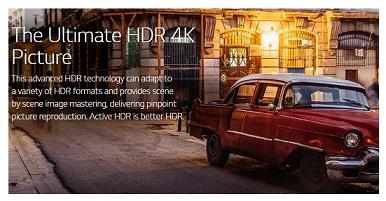 فناوری hdr در تلویزیون uk6400 بانه 24