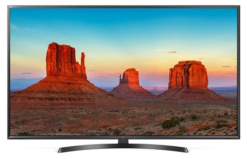 تلویزیون 49 اینچ 4k ال جی مدل uk6400 بانه 24