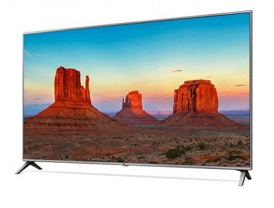 تلویزیون 65 اینچ ال جی صفحه تخت uk6500 بانه 24