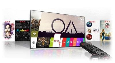 تلویزیون هوشمند الجی مدل uk7500 بانه 24