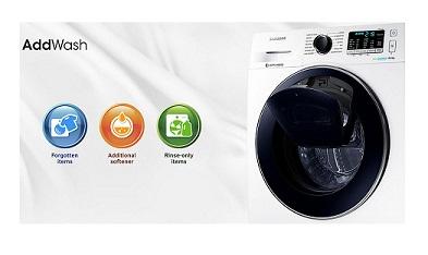 ماشین لباسشویی add wash سامسونگ مدل ww90k5213ww بانه 24