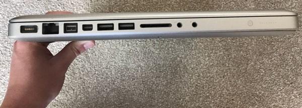 مشخصات لپ تاپ MACBOOK Pro A1286 اپل در بانه