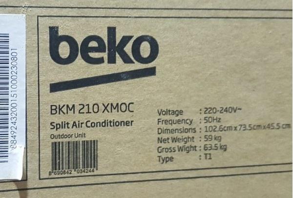 کولر گازی 21000 بکو beko bkm 210xmoc, خرید از baneh24
