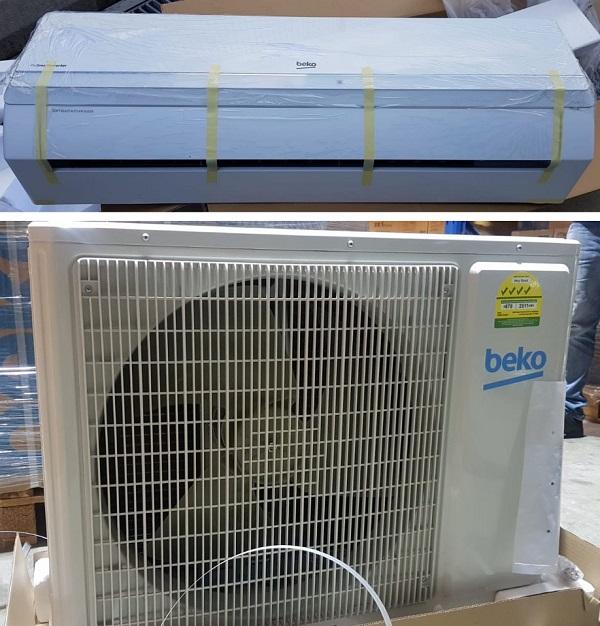 کولر گازی دو پنل سرمایشی/گرمایشی 21000 بکو bkm 210xmoc بانه کالا